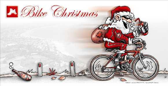 Babbo Natale In Bicicletta.Babbo Natale In Bicicletta Immagini Sanzoni Di Natale